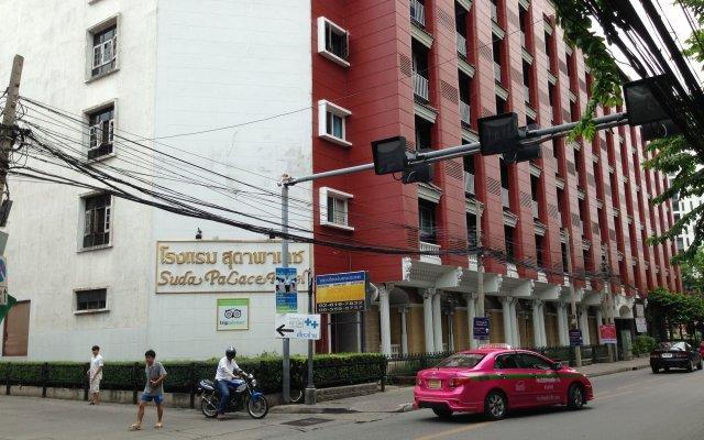 Отель Suda Palace Бангкок вид на фасад