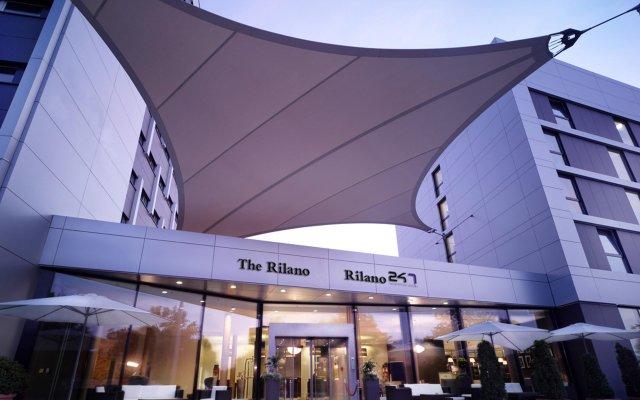 The Rilano Hotel Muenchen Мюнхен вид на фасад
