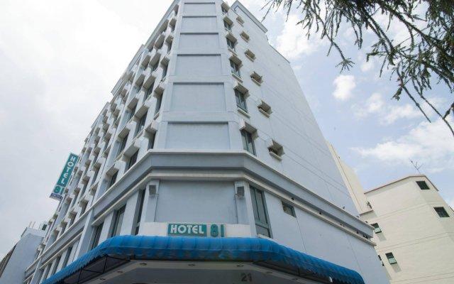 Hotel 81 Orchid вид на фасад