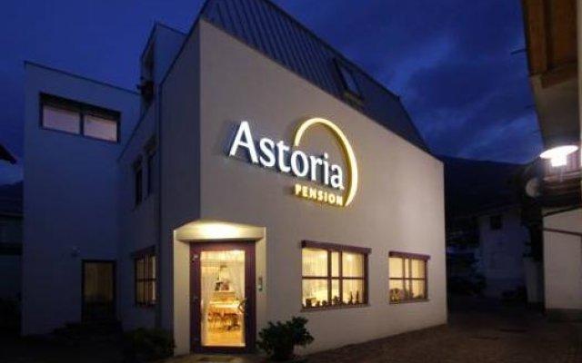 Отель Pension Astoria Прато-алло-Стелвио вид на фасад