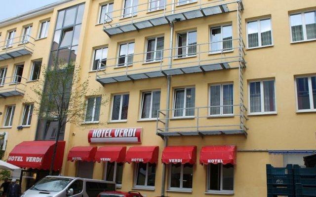 Hotel Verdi Мюнхен вид на фасад