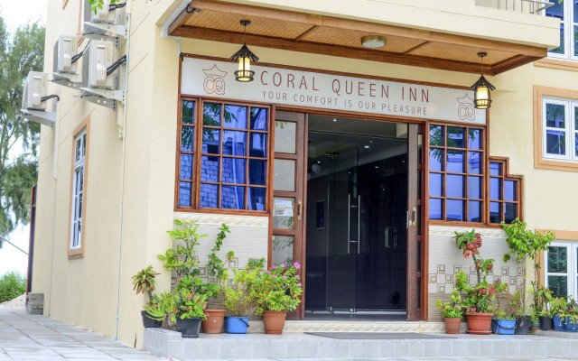 Отель Coral Queen Inn Мале вид на фасад
