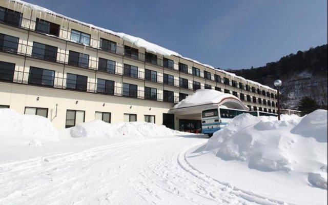Отель Ohruri Sanso Nikko Никко вид на фасад