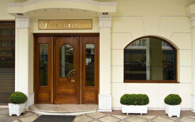 Vergina Hotel Салоники вид на фасад