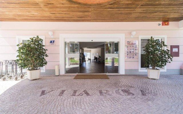 Отель Clube VilaRosa Португалия, Портимао - отзывы, цены и фото номеров - забронировать отель Clube VilaRosa онлайн вид на фасад
