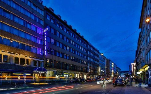 Отель Superior Hotel Präsident Германия, Мюнхен - 8 отзывов об отеле, цены и фото номеров - забронировать отель Superior Hotel Präsident онлайн вид на фасад