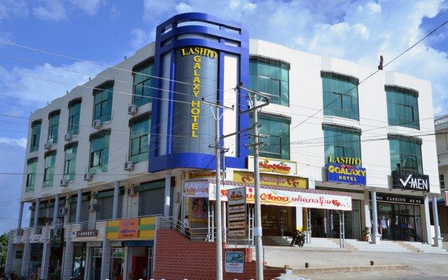 Lashio Galaxy Hotel вид на фасад
