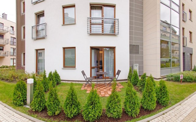 Отель Apartamenty Sun&Snow Sopocka Rezydencja Польша, Сопот - отзывы, цены и фото номеров - забронировать отель Apartamenty Sun&Snow Sopocka Rezydencja онлайн вид на фасад