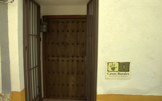 Отель Casa Rural Santa Maria Del Guadiana Сьюдад-Реаль вид на фасад