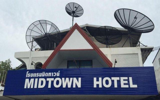 Отель Mid Town Inn вид на фасад