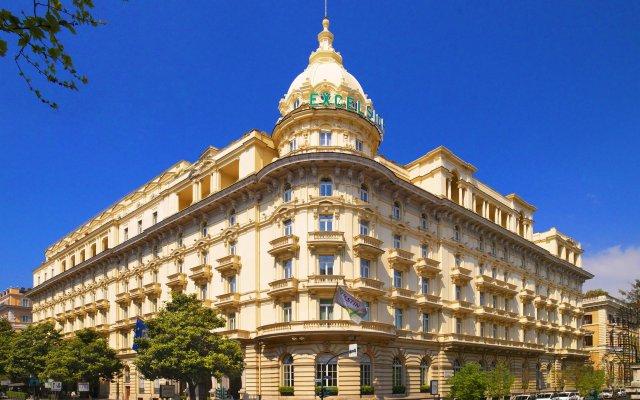 Отель The Westin Excelsior, Rome Рим вид на фасад