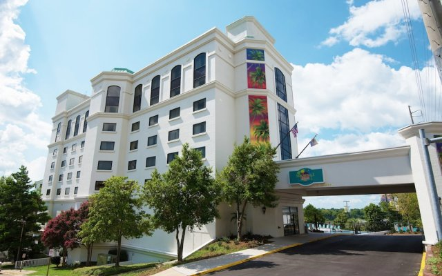 Отель Margaritaville Hotel Vicksburg США, Виксбург - отзывы, цены и фото номеров - забронировать отель Margaritaville Hotel Vicksburg онлайн вид на фасад