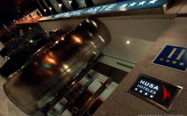Отель Paseo Del Arte Испания, Мадрид - 7 отзывов об отеле, цены и фото номеров - забронировать отель Paseo Del Arte онлайн вид на фасад