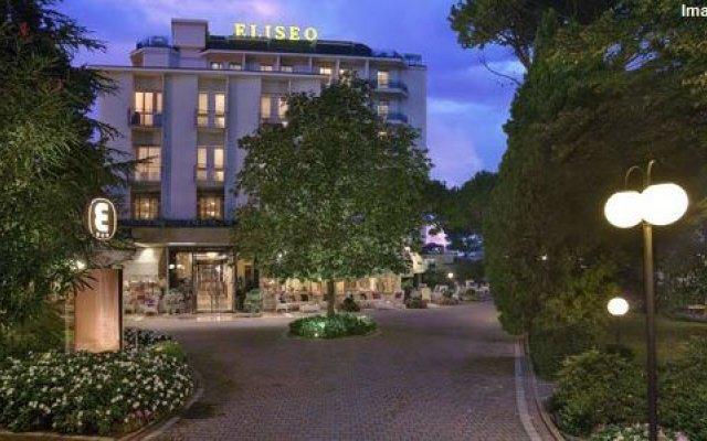 Отель Eliseo Terme Италия, Монтегротто-Терме - отзывы, цены и фото номеров - забронировать отель Eliseo Terme онлайн вид на фасад