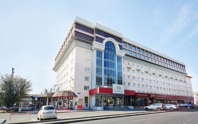 Отель Евроотель Ставрополь вид на фасад