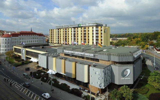 Отель OLSANKA Прага вид на фасад