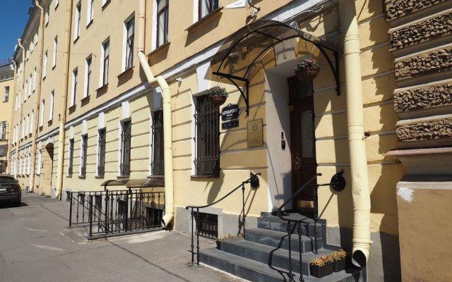 Гостиница Marsovo Polye Apart-Hotel в Санкт-Петербурге отзывы, цены и фото номеров - забронировать гостиницу Marsovo Polye Apart-Hotel онлайн Санкт-Петербург вид на фасад