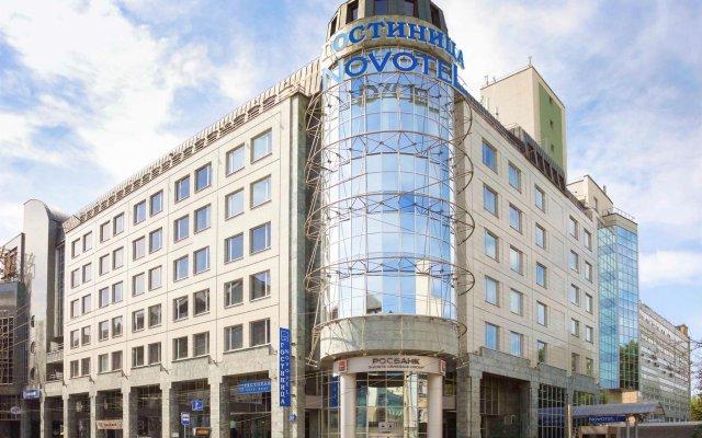 Гостиница Novotel Москва Центр в Москве - забронировать гостиницу Novotel Москва Центр, цены и фото номеров вид на фасад