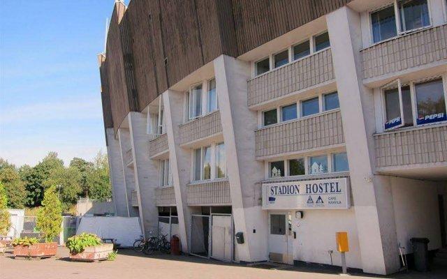 Stadion Hostel Helsinki вид на фасад