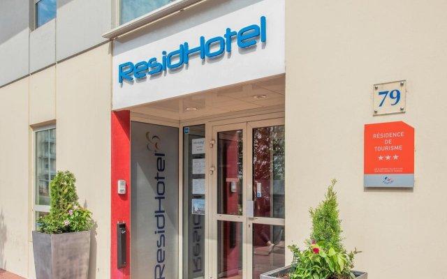 Отель Residhotel Lyon Part Dieu Франция, Лион - 2 отзыва об отеле, цены и фото номеров - забронировать отель Residhotel Lyon Part Dieu онлайн вид на фасад