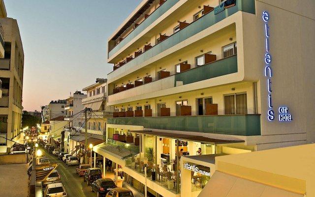 Отель Atlantis City Hotel Греция, Родос - 1 отзыв об отеле, цены и фото номеров - забронировать отель Atlantis City Hotel онлайн вид на фасад