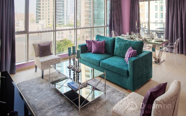 Апартаменты Dream Inn Dubai Apartments-burj Residences Дубай комната для гостей