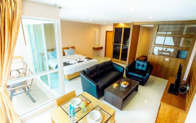 Отель G Residence Pattaya комната для гостей