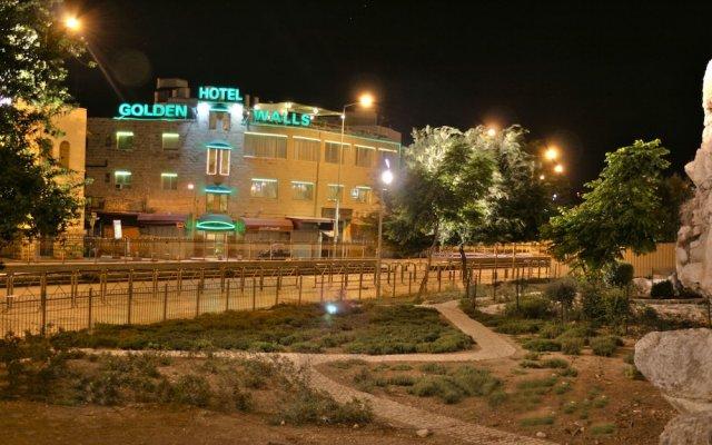 Отель Golden Walls Иерусалим вид на фасад