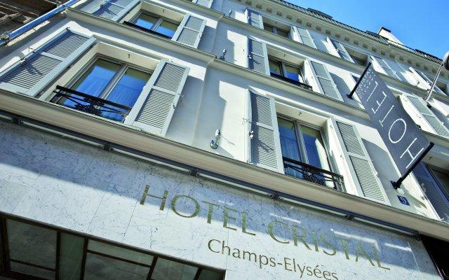 Cristal Champs-Elysées Hotel вид на фасад