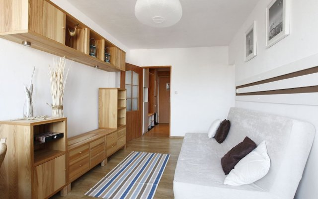 Апартаменты Sopockie Apartamenty - Seagull Apartment Сопот комната для гостей