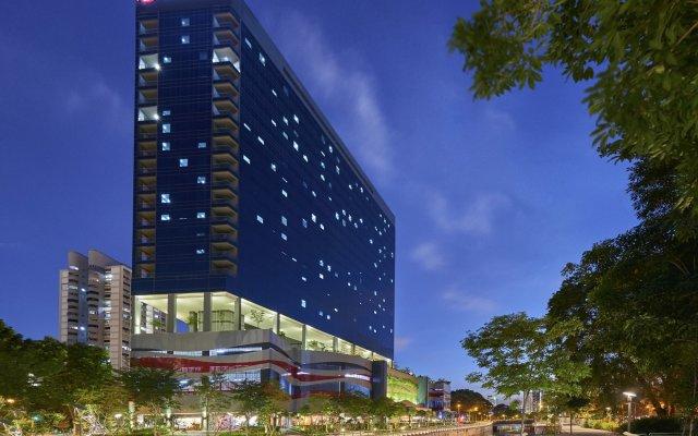 Hotel Boss Сингапур вид на фасад