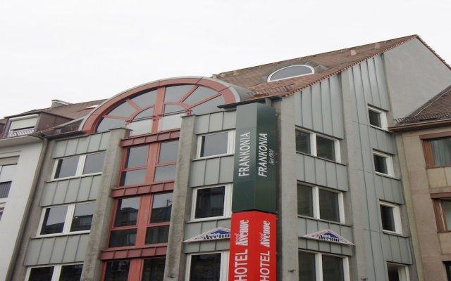 Отель Avenue Германия, Нюрнберг - 5 отзывов об отеле, цены и фото номеров - забронировать отель Avenue онлайн вид на фасад