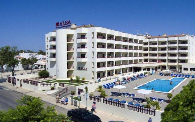 Отель Alba Португалия, Монте-Горду - отзывы, цены и фото номеров - забронировать отель Alba онлайн вид на фасад