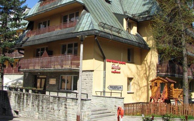Отель Dafne Zakopane вид на фасад