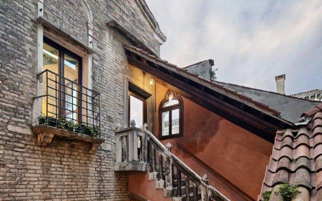Отель PAUSANIA Венеция вид на фасад
