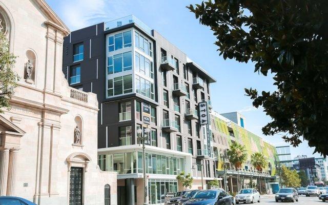 Отель Upscale Apartment in Downtown LA США, Лос-Анджелес - отзывы, цены и фото номеров - забронировать отель Upscale Apartment in Downtown LA онлайн вид на фасад
