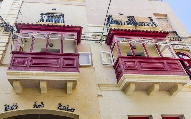 Отель Marble Arch Home Сан Джулианс вид на фасад