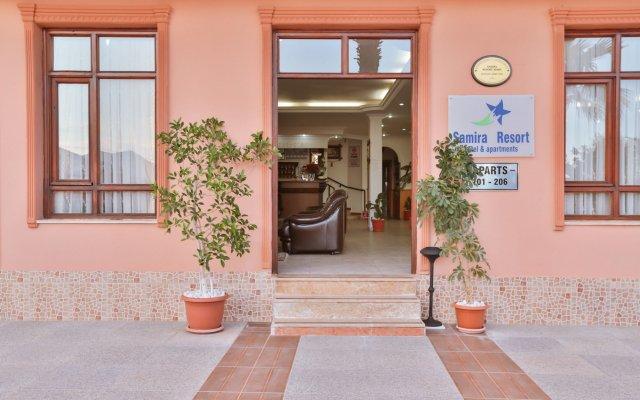 Samira Resort Hotel Aparts & Villas вид на фасад