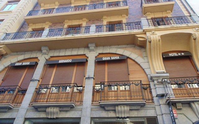 Hotel Gran Bahía Bernardo Сан-Себастьян вид на фасад