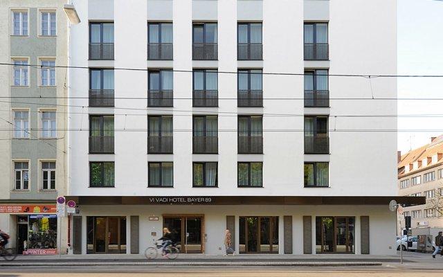 Отель Vi Vadi Bayer 89 Мюнхен вид на фасад