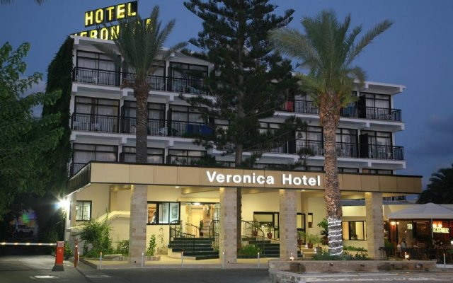 Hotel Veronica in Paphos, Cyprus from 46$, photos, reviews - zenhotels.com hotel front