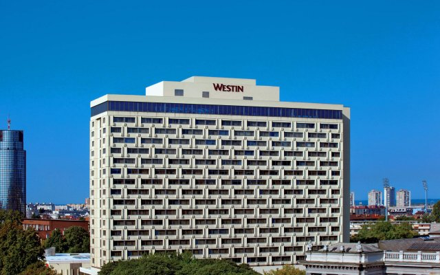 Отель The Westin Zagreb вид на фасад