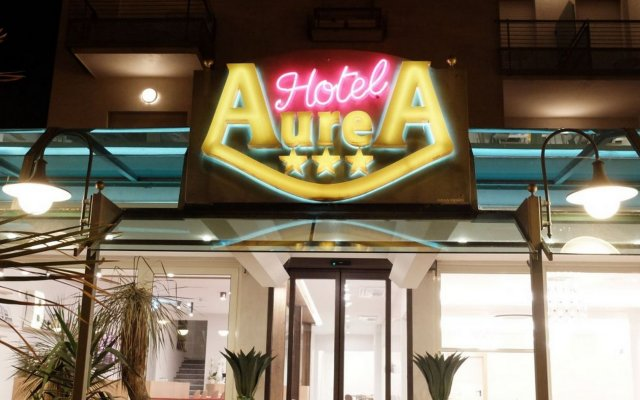 Отель Aurea Италия, Римини - отзывы, цены и фото номеров - забронировать отель Aurea онлайн вид на фасад