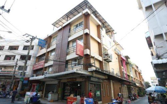 Отель Td Bangkok Бангкок вид на фасад