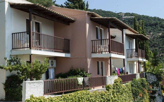 Sunshine Hotel And Spa Корфу вид на фасад