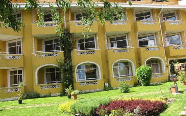 Отель Blue Orange Beach Resort вид на фасад