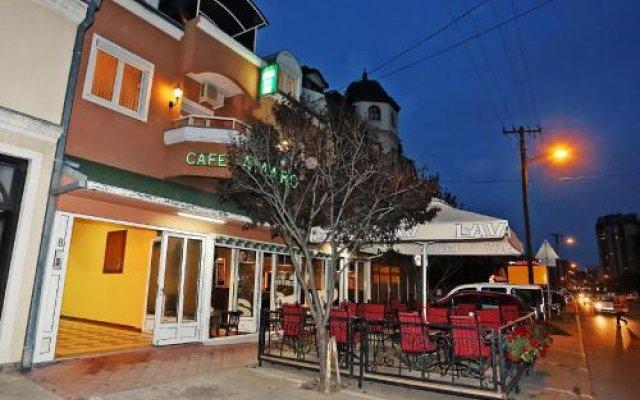 Отель Amaro Rooms Нови Сад вид на фасад
