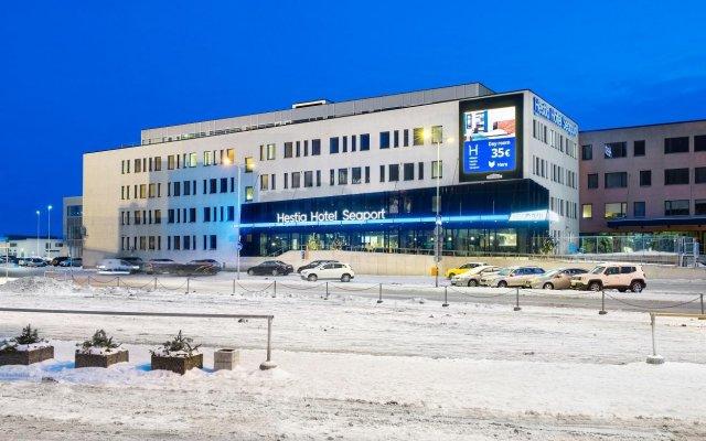 Hestia Hotel Seaport вид на фасад