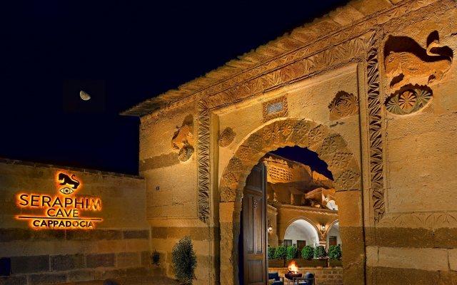 Seraphim Cave Hotel Мустафапаша вид на фасад