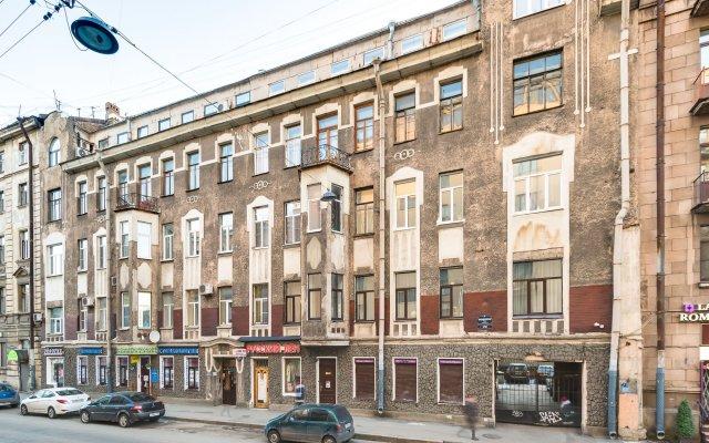 Гостиница Жилое помещение Современник вид на фасад